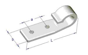 Carlig plastic 20x20x63 mm1