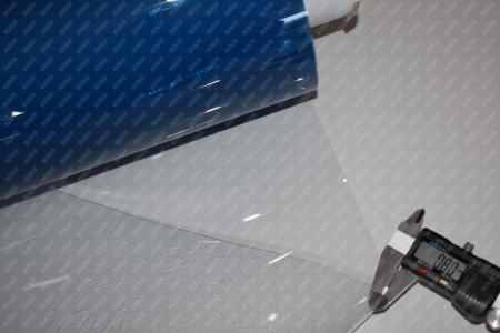 Folie PVC Cristal Transparenta cu latime de 1830 x 0.65 mm la rola de 30 m1