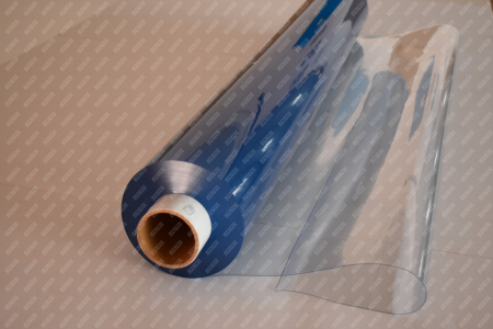 Folie PVC Cristal Transparenta cu latime de 1830 x 0.65 mm la m0