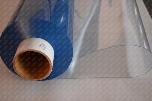Folie PVC Cristal Transparenta cu latime de 1400x0.3 mm la rola de 65 m3