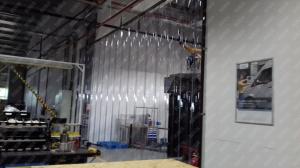 Perdea industriala din fasii pvc Dimesiuni Personalizate tip fasie 400x4.0 mm temepratura normala.0