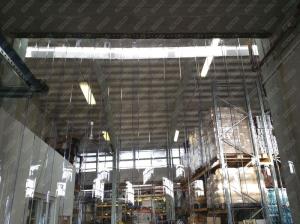 Perdea industriala din fasii pvc Dimesiuni Personalizate tip fasie 400x4.0 mm temepratura normala.3