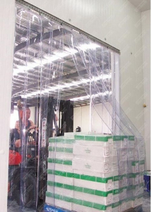 Perdea industriala din fasii pvc Dimesiuni Personalizate tip fasie 400x4.0 mm temepratura normala.2