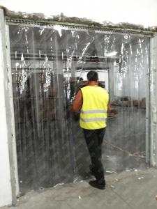 Perdea PVC moale transparenta Dimesiuni Perdea: L 1000 x H 2500 mm, temepratura normala.3