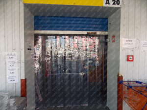 Perdea PVC moale transparenta Dimesiuni Perdea: L 1000 x H 2900 mm, temepratura normala.1