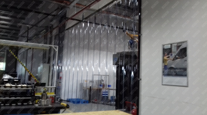 Perdea PVC moale transparenta Dimesiuni Perdea: L 1000 x H 3100 mm, temepratura normala.2
