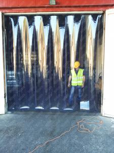 Perdea PVC moale transparenta Dimesiuni Perdea: L 1000 x H 3100 mm, temepratura normala.0