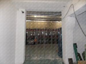 Perdea PVC moale transparenta Dimesiuni Perdea: L 1000 x H 3700 mm, temepratura normala0