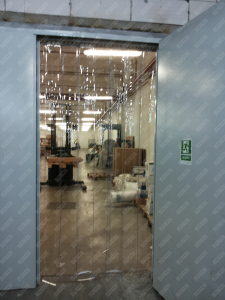 Perdea PVC moale transparenta Dimesiuni Personalizate tip fasie 200x2.0 mm temepratura normala.3