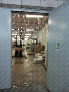 Perdea din fasii PVC moale transparenta Dimesiuni Personalizate tip fasie 300x2.0 mm temepratura normala.3