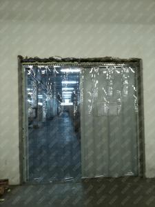 Perdea din fasii PVC moale transparenta Dimesiuni Personalizate tip fasie 300x2.0 mm temepratura normala.2