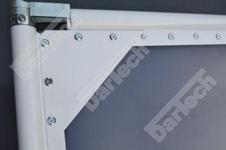 Usa batanta DARFLEX cu folie pvc transparenta cu rama din otel zincat sau vopsite [5]