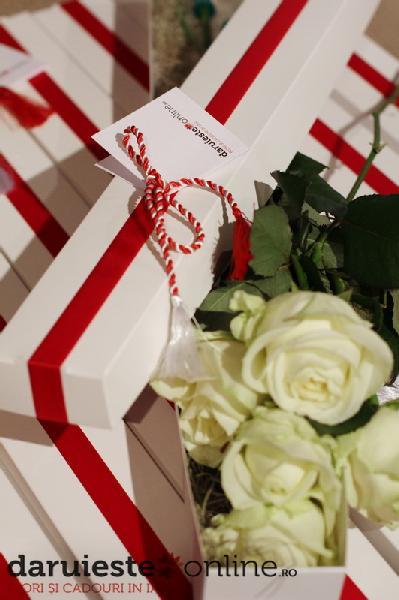 Cutie 5 trandafiri [0]