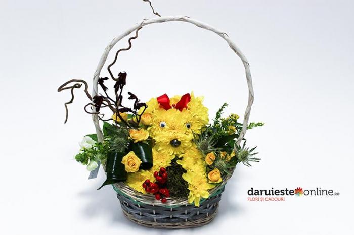 Catelus din flori 0