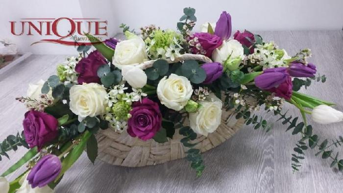 Aranjament floral poseta 0