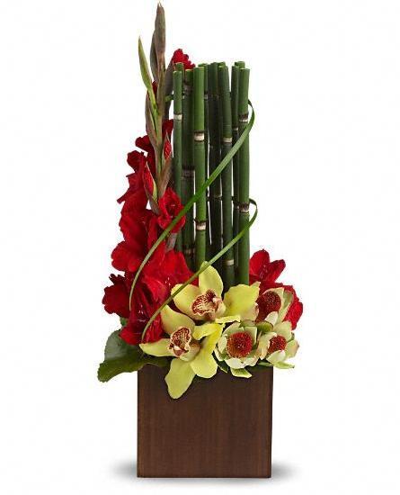 Aranjament orhidee cu babus 0