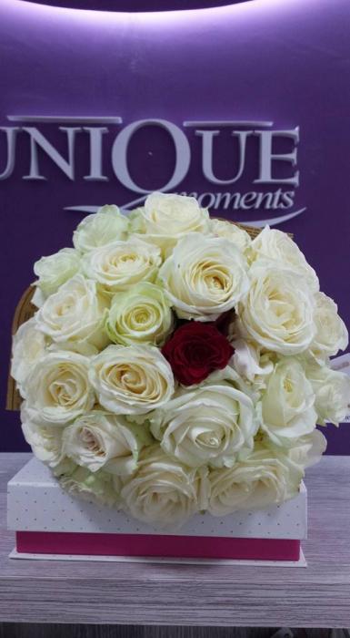 Florarie Iasi buchet 25 trandafiri 0