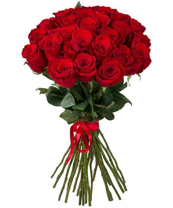 Buchet 25 trandafiri rosii 0