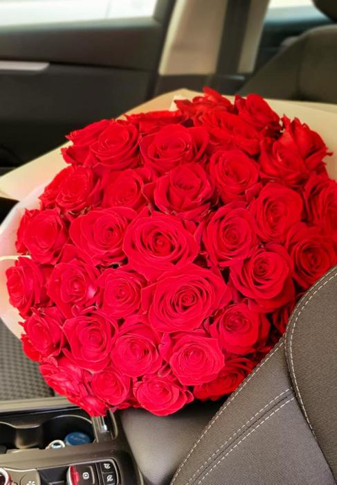 Buchet trandafiri rosii - Flori Iasi 0