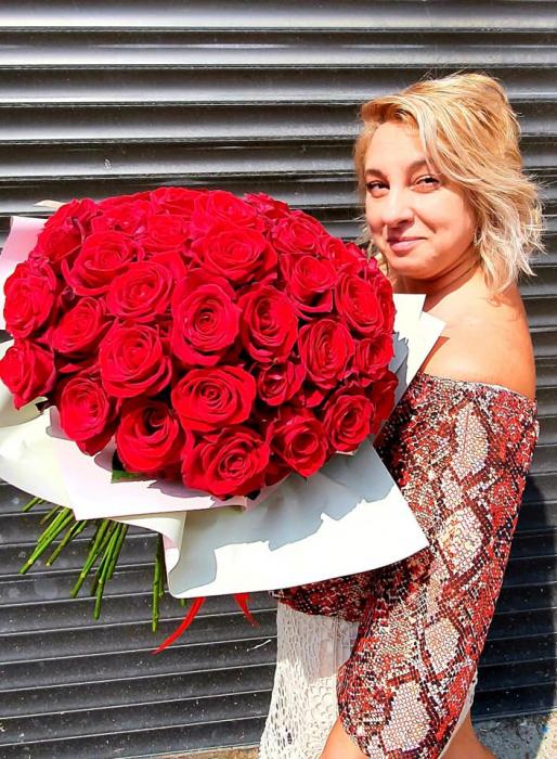 Buchet trandafiri rosii - Flori Iasi 1