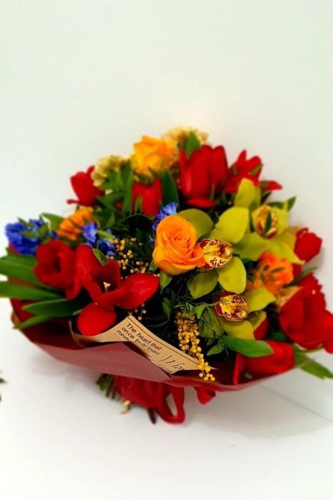 Buchet veselie de primavara - Flori 8 martie 0