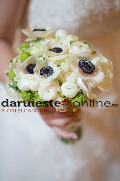 Buchet mireasa ranuculus anemone [0]
