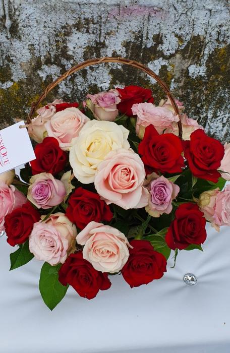 Cos 31 trandafiri 1