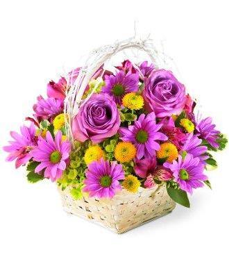 Cos cu crizanteme [0]