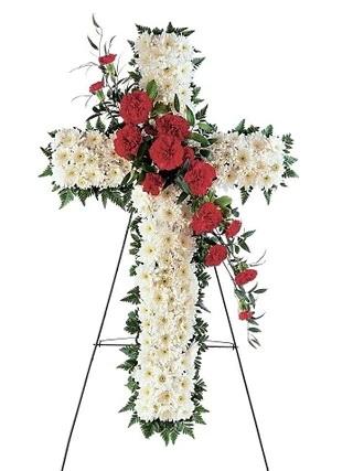 Cruce funerara alba [0]