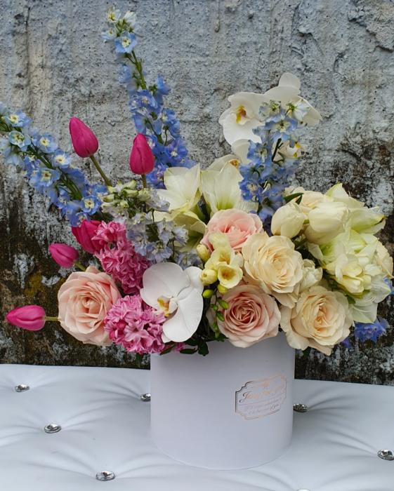 Cutie flori pastel 1 8 Martie 3
