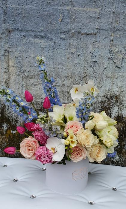 Cutie flori pastel 1 8 Martie 4