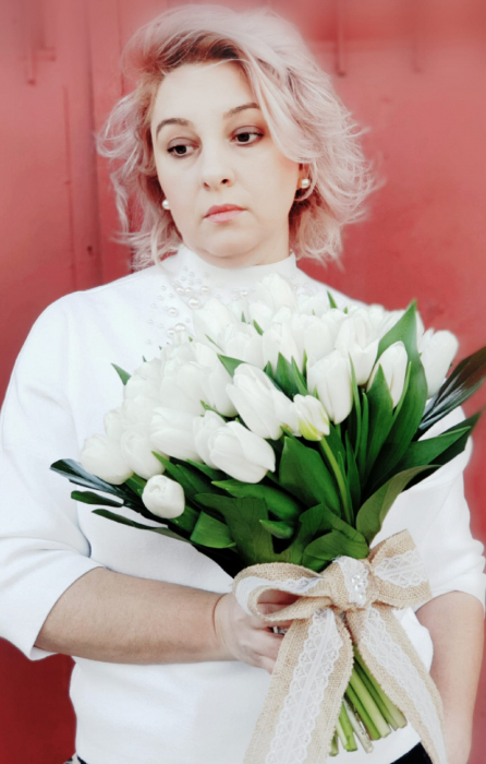 Buchet lalele albe 3