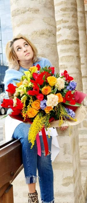 Buchet veselie de primavara - Flori 8 martie 1