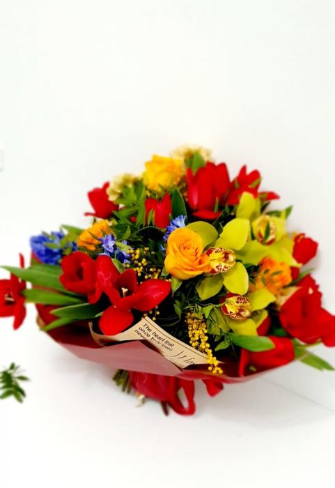 Buchet veselie de primavara - Flori 8 martie 2