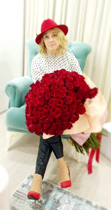 Buchet 201 trandafiri - Florarie Iasi 3