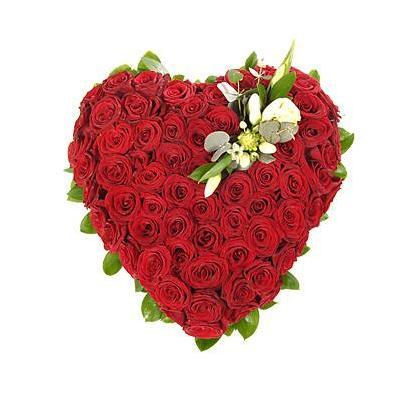 Inima 101 trandafiri. 0