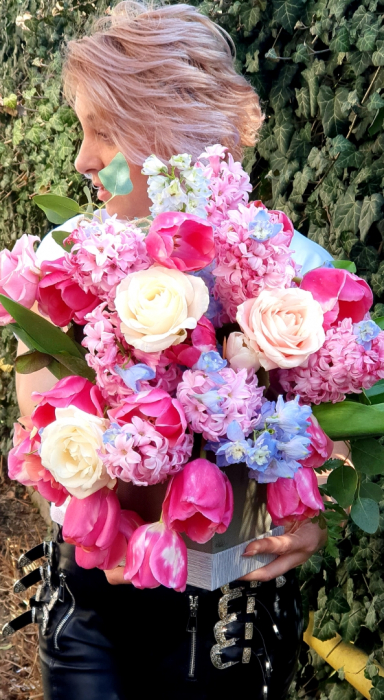 Cutie patrata cu flori de primavara [2]