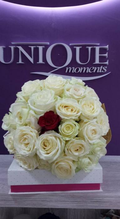 Florarie Iasi buchet 25 trandafiri 1