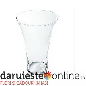Vaza deschisa sticla. Florarie Iasi. 0