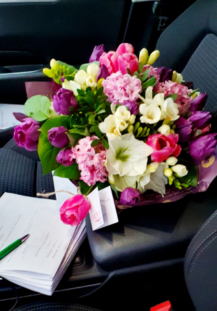 Buchet flori de primavara2