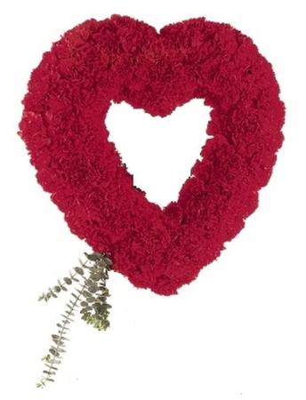 Inima funerara din garoafe [0]