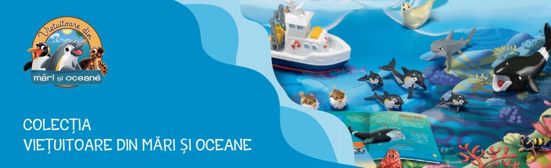 Vieţuitoare din mări şi oceane