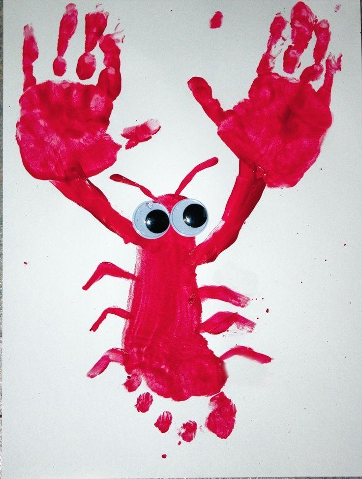 Dactilo-pictura homar