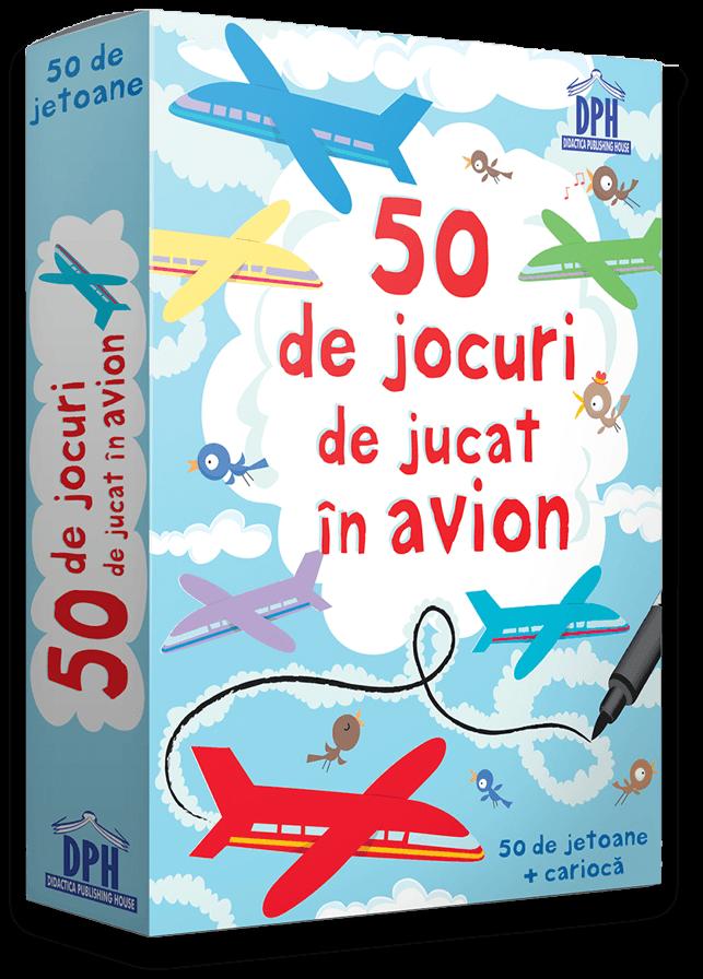 50 de jocuri de jucat în avion