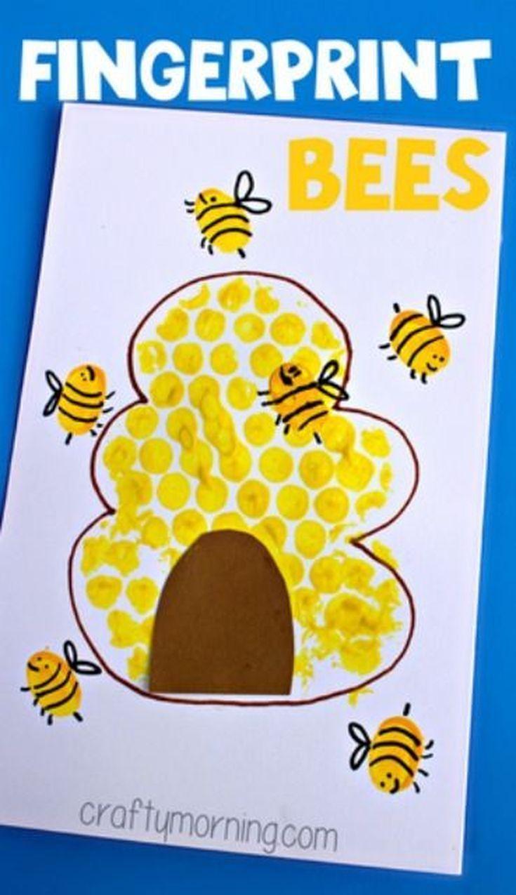 Dactilo-pictura stup cu albine