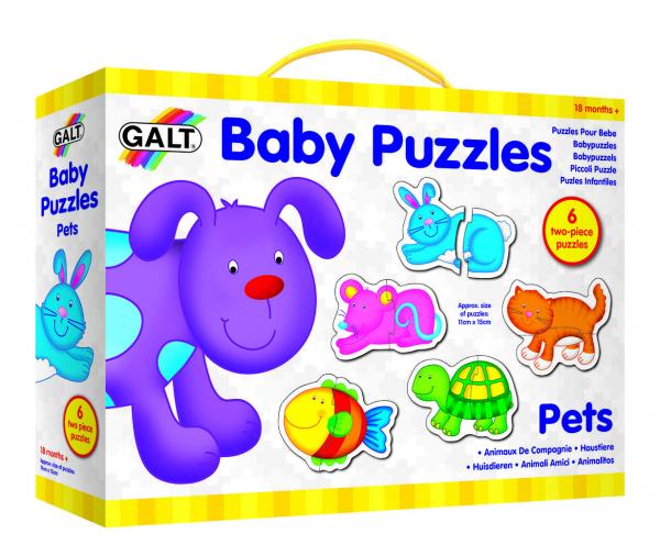 Baby Puzzle: Animale de companie (2 piese) 1