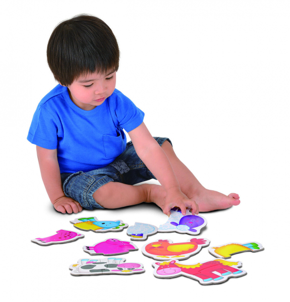 Baby Puzzle: Ferma (2 piese) [9]