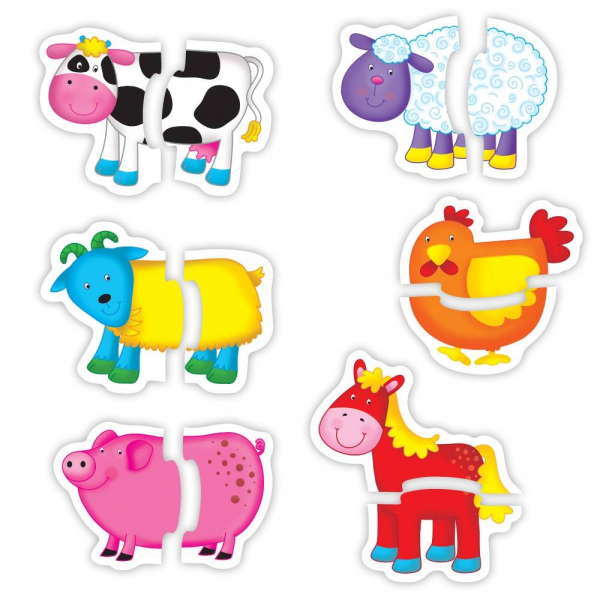 Baby Puzzle: Ferma (2 piese) [0]