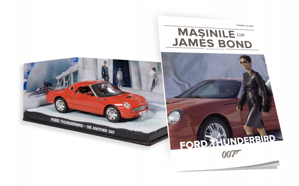 Colecţia Maşinile lui JAMES BOND: Nr.20 - Ford Thunderbird (Die Another Day) [0]