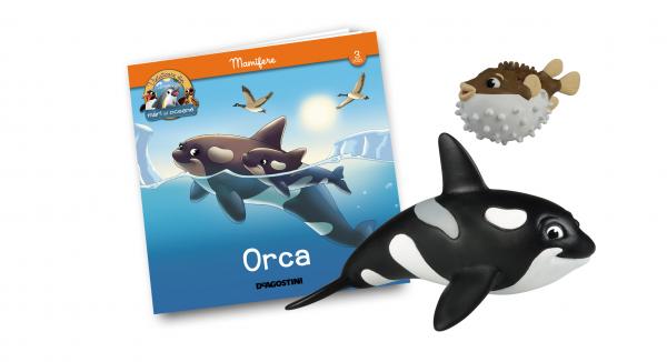 Revista Vieţuitoare din mări şi oceane – Nr.3 – Orca Olga + peştele balon Paul 0